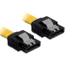 DeLock SATA Kabel 20cm gerade/gerade Metall