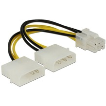 DeLock Stromkabel fü PCI Express Karten 15cm