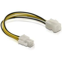 DeLock Stromkabel P4 Stecker / Buchse