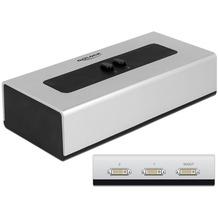 DeLock Switch 2-port DVI manuell bidirektional
