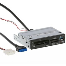 """DeLock USB 3.0 Card Reader 3.5"""" 63 in 1"""