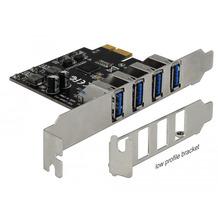 DeLock USB 3.0 PCI Express Karte mit 4 x externen Typ-A Buchsen