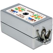 DeLock Verbinder für Netzwerkkabel Cat.6A LSA werkzeugfrei