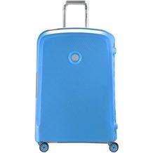 Delsey Belfort Plus 4-Rollen Trolley 70 cm teal blue