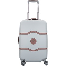 Delsey Chatelet Air 4-Rollen Kabinentrolley 55 cm silber