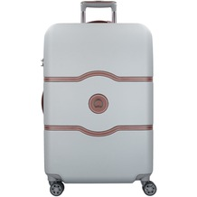 Delsey Chatelet Air 4-Rollen Trolley 77 cm silber
