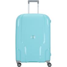 Delsey Clavel 4-Rollen Trolley 70 cm blaugrau