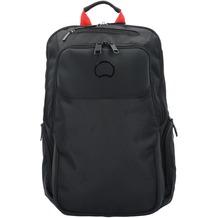 Delsey Parvis Plus Rucksack 40 cm Laptopfach schwarz