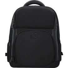 Delsey Quarterback Premium Businessrucksack 43 cm Laptopfach schwarz