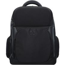 Delsey Quarterback Premium Businessrucksack 44 cm Laptopfach schwarz