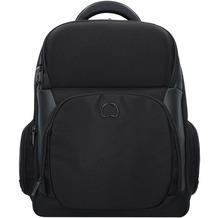 Delsey Quarterback Premium Businessrucksack 46 cm Laptopfach schwarz