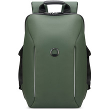 Delsey Securain Rucksack RFID 34 cm Laptopfach army