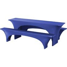 Dena Festzeltgarnituren Fortune E-J 220x50cm Blau