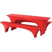 Dena Festzeltgarnituren Fortune E-J 220x70cm Rot