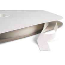 Dena Klettband Streifen 2500 x 2 cm, weiß