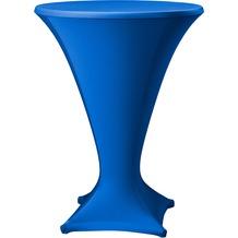 Dena Stehtischhusse Cocktail D1 Ø 80-85 cm, blau mittel