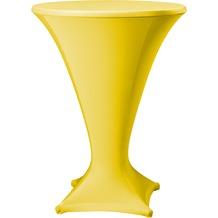 Dena Stehtischhusse Cocktail D1 Ø 80-85 cm, gelb
