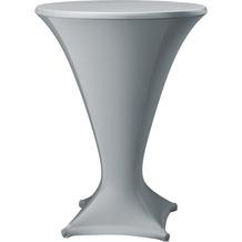 Dena Stehtischhusse Cocktail D1 Ø 80-85 cm, grau mittel