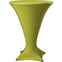 Dena Stehtischhusse Cocktail D1 Ø 80-85 cm, grün mittel