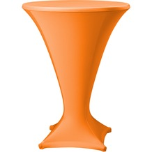 Dena Stehtischhusse Cocktail D1 Ø 80-85 cm, orange/terrakotta