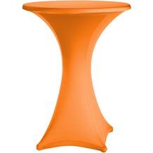 Dena Stehtischhusse Festival D1 Ø 70 cm, orange/terrakotta