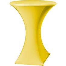 Dena Stehtischhusse Festival D2 Ø 70 cm, gelb