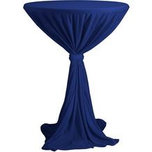 Dena Stehtischhusse Party D1 Ø 80-90 cm, blau hell