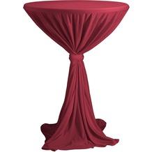 Dena Stehtischhusse Party D1 Ø 80-90 cm, rot