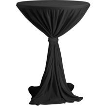 Dena Stehtischhusse Party D1 Ø 80-90 cm, schwarz