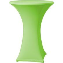 Dena Stehtischhusse Samba D1 grün hell mit Tischplattenbezug Ø 70 cm