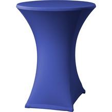 Dena Stehtischhusse Samba D2 blau hell mit Tischplattenbezug Ø 70 cm