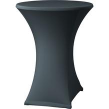 Dena Stehtischhusse Samba D2 Ø 70 cm, grau mit Tischplattenbezug