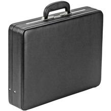 Dermata Aktenkoffer Leder 48 cm schwarz