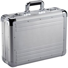 Dermata Aluminum Aktenkoffer 46 cm silberfarben-matt