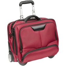 Dermata Business-Trolley 43 cm Laptopfach rot