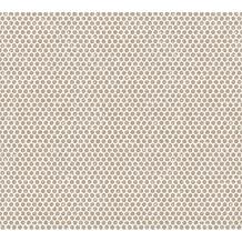 Designdschungel Vliestapete Tapete mit Punkten im Metallic-Look metallic bronze 365762 10,05 m x 0,53 m
