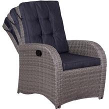 deVries Juan Lounge Relaxsessel 8 mm smokey grey