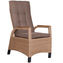 deVries Montana Dining Relaxsessel 8 mm spotted brown