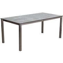DeVries Willington Tischplatte 180 x 90 cm plumbum