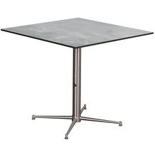 deVries Willington Tischplatte 80 x 80 cm plumbum