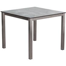 DeVries Willington Tischplatte 90 x 90 cm plumbum