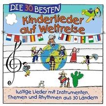 Lamp & Leute - Die 30 besten Kinderlieder auf Weltreise Hörbuch