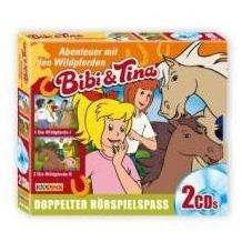 Bibi und Tina. Wildpferde Teil 1+2 Hörspiel