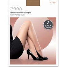 disée Feinstrumpfhose 20den 6er-Pack make up 38-40