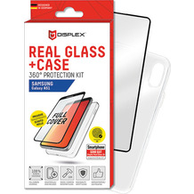 Displex Real Glass + Case für Samsung Galaxy A51