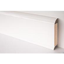 Döllken EP 60/13 Design-Kernsockelleiste für Designbeläge 1013(0117) weiß UNI 250 cm