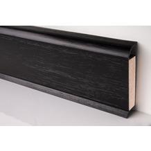 Döllken EP 60/13 Design-Kernsockelleiste für Designbeläge 1144(0110) schwarz UNI 250 cm