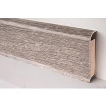 Döllken EP 60/13 Design-Kernsockelleiste für Designbeläge 2258 limed grey wood 250 cm