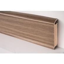 Döllken EP 60/13 Design-Kernsockelleiste für Designbeläge 2332 eiche klassisch gewachst 250 cm