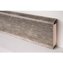 Döllken EP 60/13 Design-Kernsockelleiste für Designbeläge 2486 smoked oak light grey 250 cm